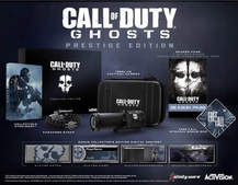 Activision confirms Call of Duty: Ghosts 'Hardened' and 'Prestige' special editions - and 1080p tactical HM camera