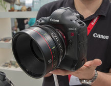 Canon EOS-1D C hands-on, we check out the ultimate 4K videographer's DSLR