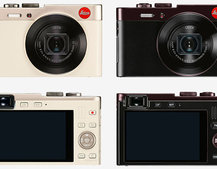 Leica C: the new digital compact camera packs Audi Design and power into your pocket