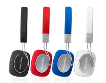 Bower & Wilkins P3 headphones get a lick of rouge in red makeover