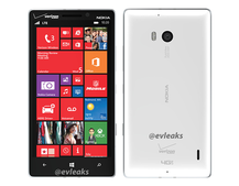 White Nokia Lumia 929 press picture leaked to match the black one
