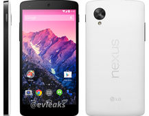 LG Nexus 5 will reportedly be released in white and black on 1 November