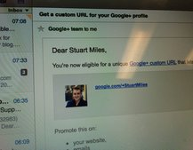 Google+ vanity URLs start rolling out