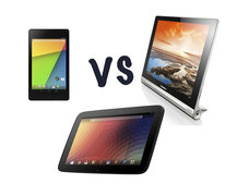 Lenovo Yoga Tablet vs Nexus 7 and Nexus 10: What's the difference?