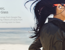 Google announces Music integration for Glass, unveils special earbuds