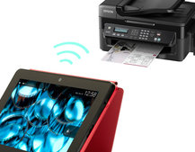Print wirelessly from your Kindle Fire HD and HDX directly to Epson printers