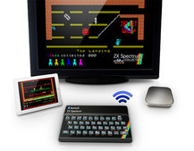 It's taken a few years, but finally the ZX Spectrum iOS Bluetooth keyboard is go... sort of