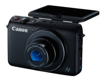 Canon PowerShot N100 compact features front and rear-facing cameras for ultimate selfies
