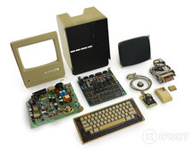 iFixit creates great 80s Macintosh 128K teardown video for Mac's 30th anniversary