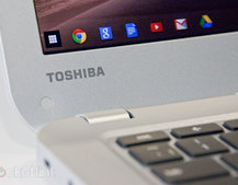 Toshiba's first Chromebook with Haswell and 13-inch display lands in the UK and US