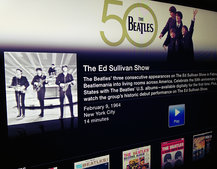 Apple TV adds The Beatles channel to celebrate 50th anniversary of US debut