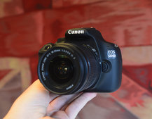 Canon EOS 1200D pictures and hands-on