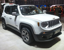 Jeep Renegade pictures and eyes-on: Fiat merger brings new 4x4