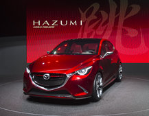 Mazda Hazumi pictures and eyes-on: Mazda 2 concept car has awesome moniker