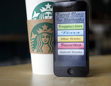 Starbucks app will let users order a coffee before getting to the shop