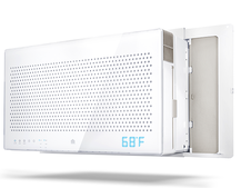 Quirky and GE's Aros smart air conditioner can be controlled from your smartphone