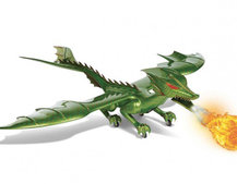 You can own a remote control fire-breathing dragon that flies at 70mph, no really