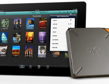 LaCie doubles Fuel external storage for iPad to 2TB