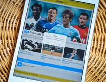 BBC Sport app adds push notifications for football clubs, follow your team as the season ends