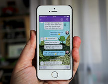 Viber iPhone iOS 7 styled redesign sets it up nicely for the VoIP battle ahead