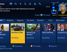 Sky News adds Catch Up TV service for Sky+HD customers