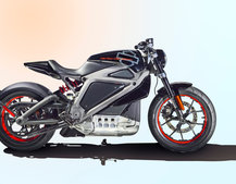 This is the world's first Harley-Davidson electric motorcycle, LiveWire (updated)