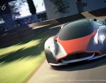 The only way to drive the new Aston Martin DP-100 is on PS3 and GT6