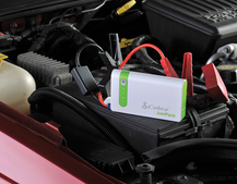 This portable phone charger will also jump start your car