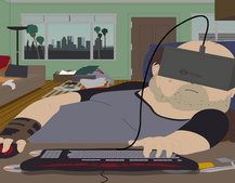 Is there no limit to Oculus Rift? Now you can tour South Park