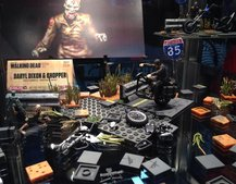 How do you follow up Batman Tumbler Lego? With The Walking Dead Lego, that's how