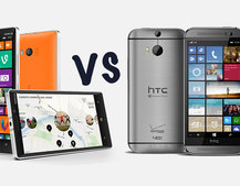 HTC One (M8) for Windows vs Nokia Lumia 930: What's the difference?