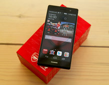 Huawei Ascend P7 Arsenal Edition: Hands-on the Gooner phone