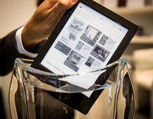 Kobo Aura H2O eBook reader survives our water test, perfect for the bath
