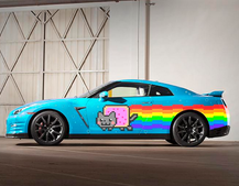 Nissan to the rescue! Car maker gifts Nyan Cat GTR to Deadmau5 after Ferrari fall-out