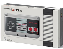 Nintendo harks back to glory days with NES-styled 3DS XL