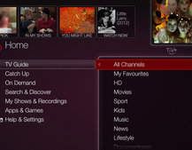 New Virgin Media TiVo interface update revealed, coming October