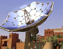 IBM's solar Sunflower enhances the sun by 2,000 times to heat and purify water and power homes