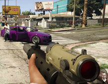 GTA 5 for PS4 and Xbox One becomes a first-person shooter (video)