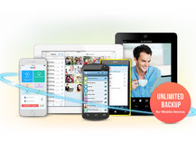 iDrive cloud storage app now offers unlimited phone backups for cheap