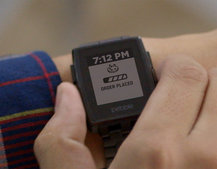 You can now track your Domino's Pizza delivery right from your wrist
