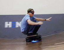 Skateboarding superstar Tony Hawk takes on the real-life Hendo Hoverboard, see how he gets on (video)