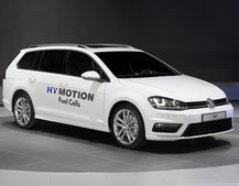 Hydrogen fuel cell powered VW Golf SportWagen HyMotion unveiled with 310-mile range