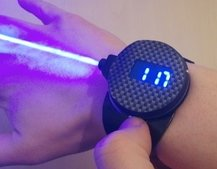 LaserWatch can burn through objects and is finally a reality, not just for James Bond