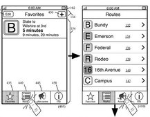 Apple's public transit feature revealed in patent, possibly for Maps