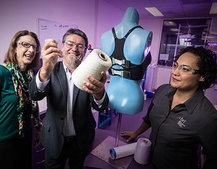 'Gadgets supporting humans' has been taken literally for the Bionic Bra
