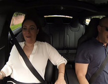 Tesla Model S P85D Insane Mode reactions: Look at the excitement on those faces