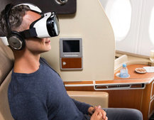 Never feel trapped on a flight again: Quantas adds Samsung Gear VR to its planes
