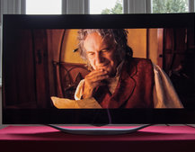 LG 55EC930V TV review: Throwing an OLED curveball at 4K competitors
