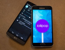 Samsung Galaxy S5 and LG G3 get UK Android 5.0 Lollipop update