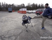 Boston Dynamics' new robo-dog Spot is more of a pup, small but strong